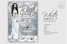 Free All White Party Flyer Template White Party Flyer Template V2 Free Posters Design For
