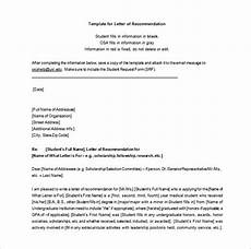 Uic Letter Of Recommendation Letters Of Recommendation 28 Free Word Excel Pdf