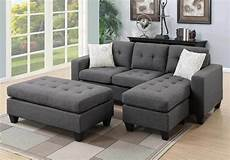 Tiny Sectional Sofa 3d Image by Reversible Small Sectional Sofa Chaise Tufted Xl Ottoman