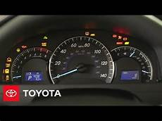 2012 Toyota Dashboard Lights 2014 5 Camry How To Dashboard Warning Lights Toyota