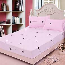 24 color breathable polyester elasticity mattress cover