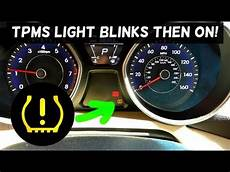 Why Is Tpms Light On Tpms Light Blinking And Stays On Fix Youtube