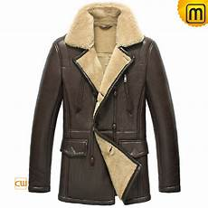 mens coats chaps shearling leather jacket coat for cw856128