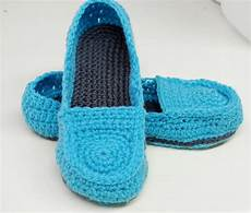 free crochet pattern s loafer slippers 183 a pair of