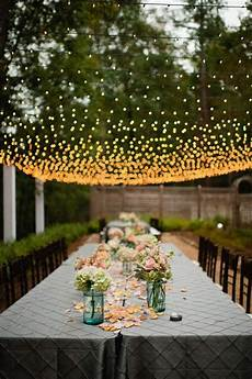Garden Party Lights Ideas 40 Romantic And Whimsical Wedding Lighting Ideas Deer