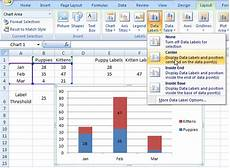 Excel Chart Mouse Over Label How To Make Conditional Label Values In An Excel Stacked