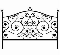 baroque headboard wall sticker dezign with a z