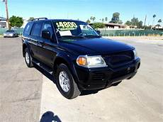 2002 Mitsubishi Montero Sport Light Used 2002 Mitsubishi Montero Sport Xls 4wd For Sale In