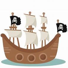 pirate ship svg scrapbook cut file clipart clip
