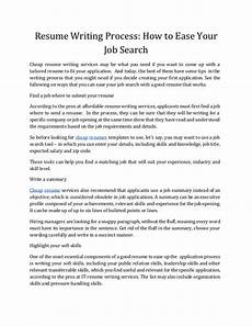 Where Can I Get A Resume How To Write A Good Resume That Get Noticed