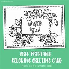 Make Thank You Cards Free Free Printable Thank You Coloring Card Make Breaks