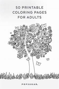 Printable Coloring Pages For Seniors Free Printable Coloring Pages Popsugar Smart