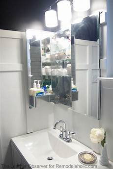 remodelaholic how to install a recessed medicine cabinet