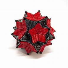 the stargazer ornament peyote stitch geometric