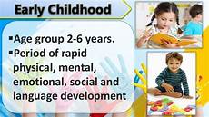 Physical Development In Early Childhood Early Childhood Cognitive Development