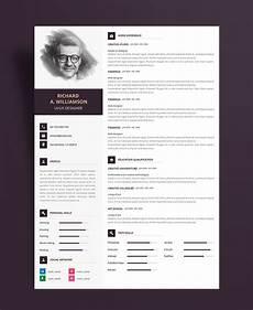 Professional Creative Resume Creative Professional Resume Cv Design Template With