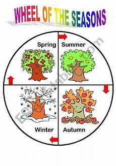 Season Wheel Chart Season Wheel Esl Worksheet By Gregco