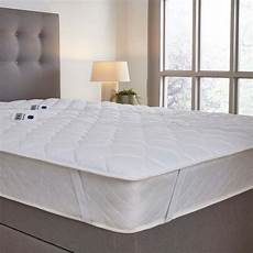 silentnight multi zone heated quilted mattress topper