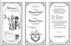 contoh kata kata undangan pernikahan kristen dalam bahasa