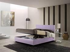 contenitori da letto letto matrimoniale imbottito con contenitore alison
