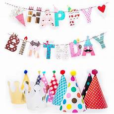 Colorful Happy Birthday Banner Fun And Colorful Gold Foiled Happy Birthday Banner Flags