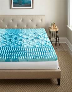 broyhill 3 inch gellux gel infused cooling foam mattress