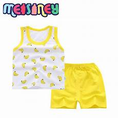 5t boys summer clothes 0 5t baby summer clothes sleeveless yellow banana pattern