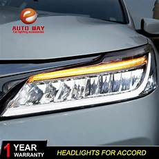 2016 Honda Accord Light Assembly Car Styling Head Lamp Case For Honda Accord Headlights