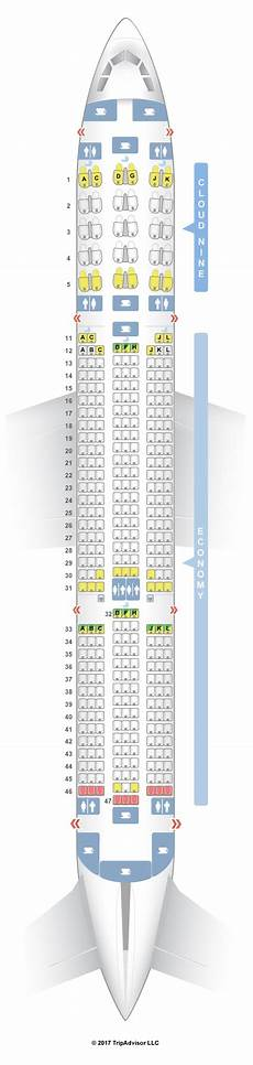 Airbus A350 900 Seating Chart Seatguru Seat Map Ethiopian Airlines Airbus A350 900 350