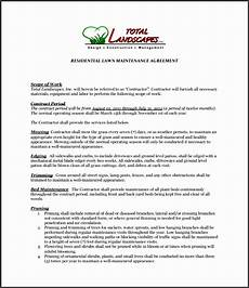 Lawn Care Proposal Template 9 Lawn Care Proposal Template Sampletemplatess