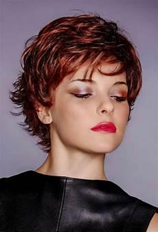 kurzhaarfrisuren haare kurzhaarfrisur rote haare trendige kurzhaarfrisuren