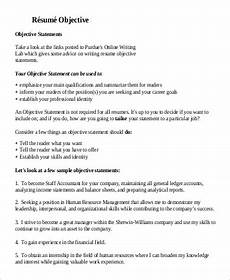 What Is Objective On A Resume Free 7 Sample General Objective For Resume Templates In Pdf