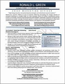 Sales Marketing Resume Sample Executive Resume Samples Professional Resume Samples