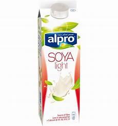 Soy Milk Light Nutritional Information Soya Plain Drink Light Chilled Alpro