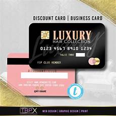 Credit Card Design Awards Credit Card Styled Discount Card 1 Business Card Etsy