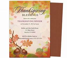 thanksgiving cards word template free thanksgiving invitations email in 2019 thanksgiving