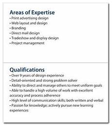 List Of Special Skills And Qualifications Mini Resume And Custom Portable Pocket Resume