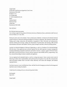 Electrician Apprentice Cover Letters Basic Industrial Electrician Cover Letter Samples And