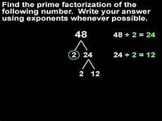 What Is Prime Factorization Prime Factorization Mathhelp Com Math Help Youtube