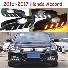 2016 Honda Accord Light Assembly One Set Car Accessories For Honda Accord Daytime Light