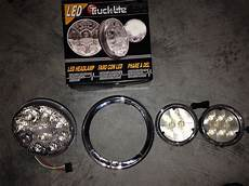 Frenched Led Lights Trucklite Phase 6 Led Passing Lamps Frenched Light Rings