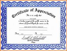Free Editable Certificate Templates Certificate Of Appreciation Template Free Download Task
