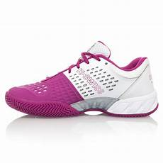 Light Tennis Shoes K Swiss Bigshot Light Womens Tennis Shoes White Pink