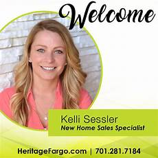 New Hire Announcement Welcome Kelli Sessler New Home Sales Specialist