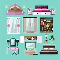 oggetti da letto oggetti interni della da letto nello stile piano