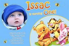 Baby Birthday Invitation Templates Baby First Birthday Invitations Bagvania Free Printable