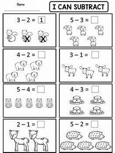 kindergarten addition and subtraction worksheets by dana s