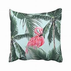 buy pink flamingos birds tropical palm leaves trees