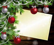 Merry Christmas Greeting Card Design Merry Christmas Greeting Card With Wood Background Vector