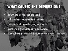 Causes Of The Great Depression The Great Depression By Megan Smith